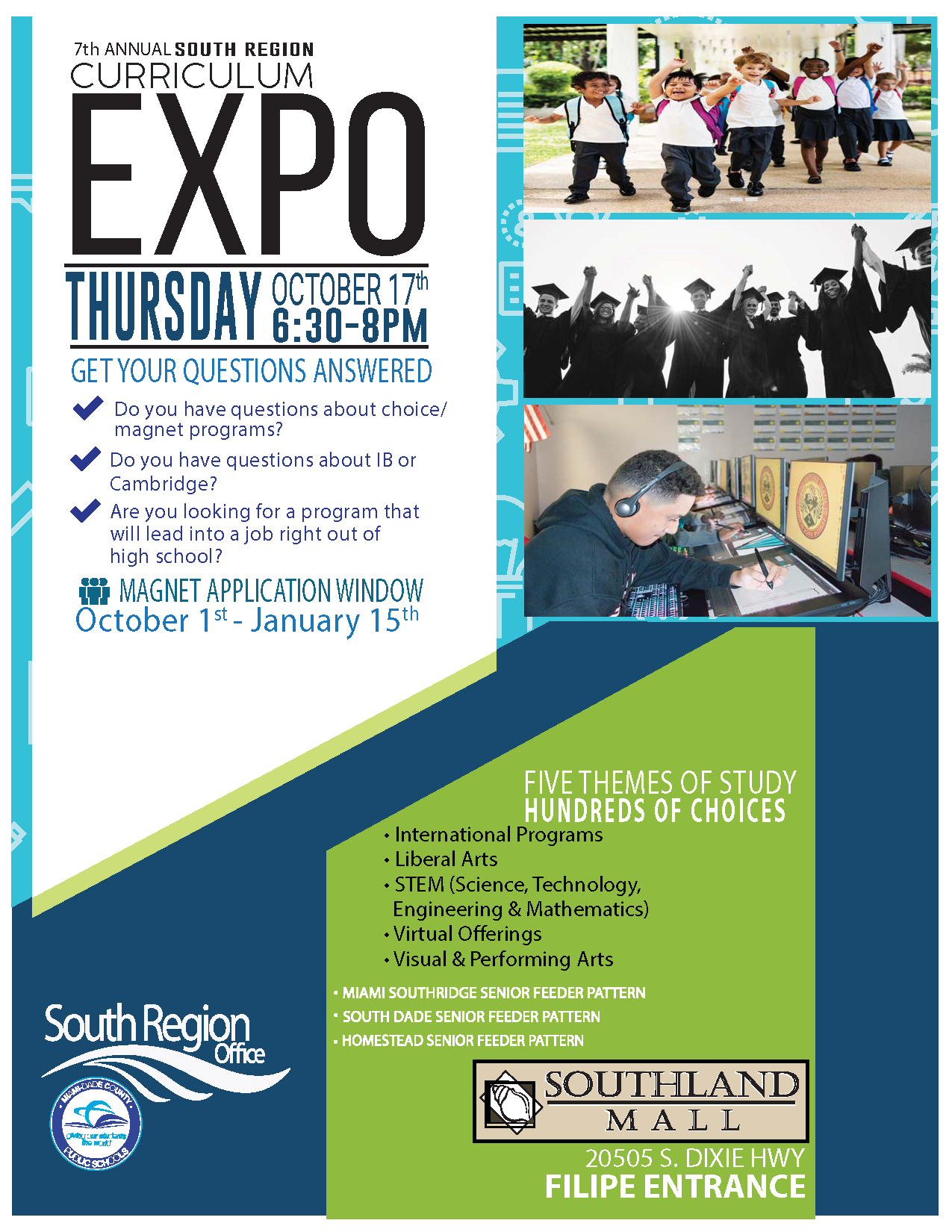 Curriculum Expo @ Southland Mall (FILIPE ENTRANCE)